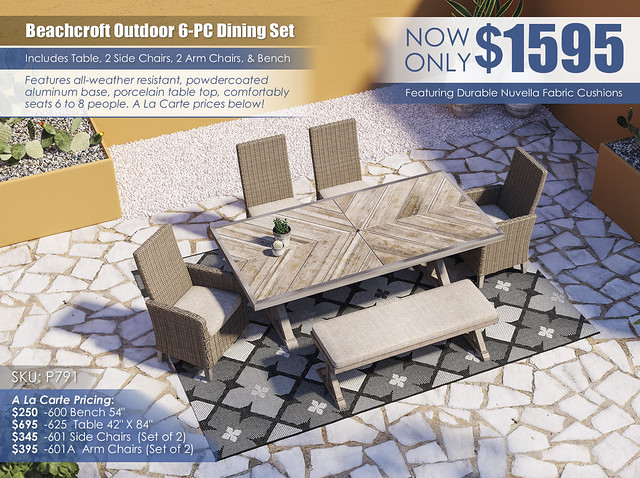 Beachcroft Dining Set_P791-625-601(2)-601A(2)-600