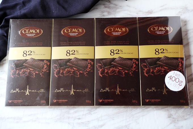 【Costco 好市多】Cemoi 82% 黑巧克力 Dark Chocolate|2018 新版 | | Barrel Leaf 桶子葉的吐司記