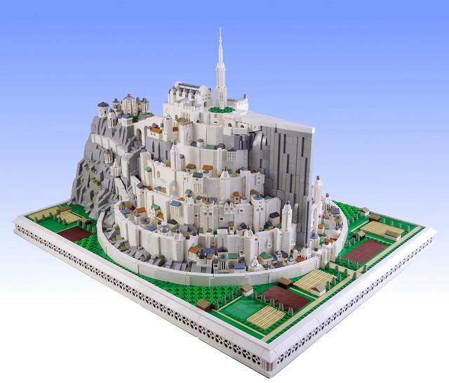 LEGO The Lord of the Rings Minas Tirith microscale
