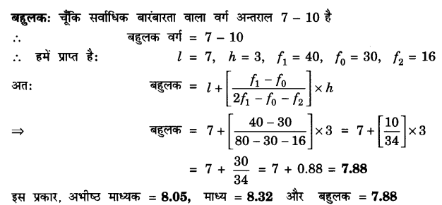 UP Board Solutions for Class 10 Maths Chapter 14 Statistics page 314 6.3