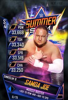 SummerSlam 18 Samoa Joe