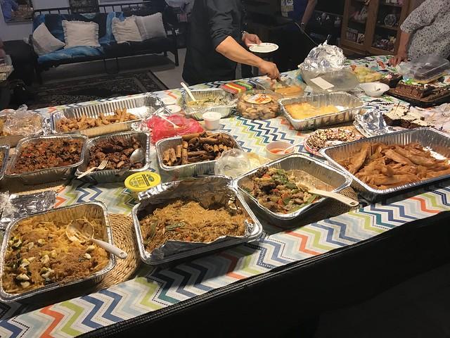 so much food