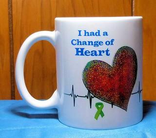heart transplant mug image