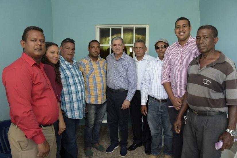 Reunión en la casa de del dirigente Carlos Pereira en Cabrera, 3 de agosto 2018