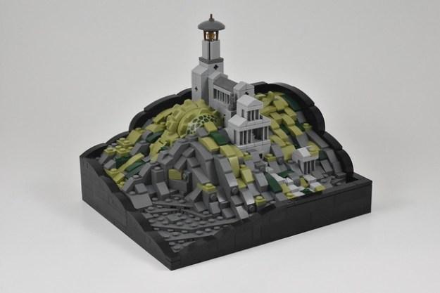 寺庙的Tarrasque