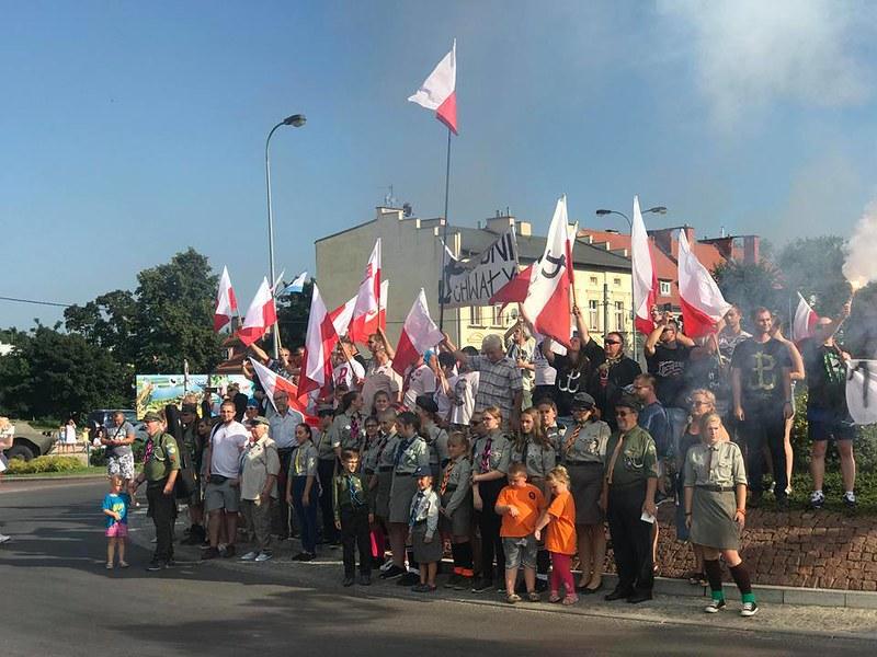 74. rocznica Powstania Warszawskiego wMrągowie