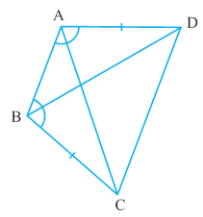 Maths NCERT Solutions Class 9 Triangles Hindi Medium 7.1 2