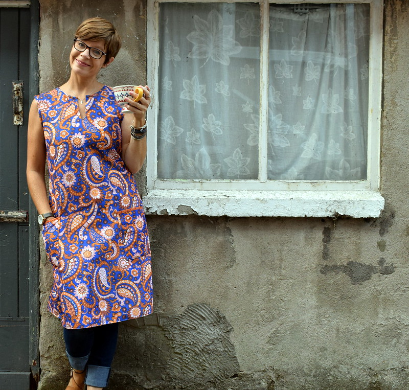 60's Revival Tunic Aug18