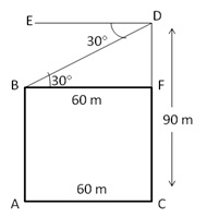 RS Aggarwal Solutions Class 10 Chapter 14 Height and Distance Ex 14a 32