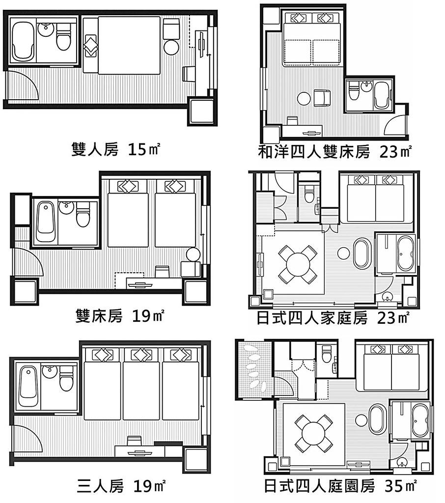 Osaka View Hotel Honmachi Room Types