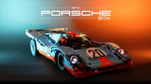 LEGO Technic RC 1970 Porsche 917K