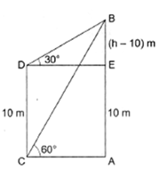 RS Aggarwal Solutions Class 10 Chapter 14 Height and Distance Ex 14a 40