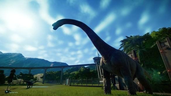 Evolución del mundo jurásico - Brontosaurio
