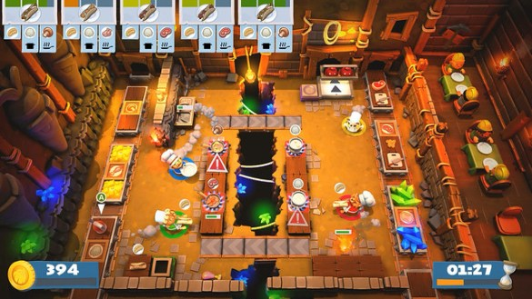 Overcooked 2 - Mining Stage