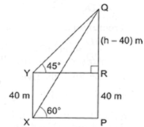 RS Aggarwal Solutions Class 10 Chapter 14 Height and Distance Ex 14a 46