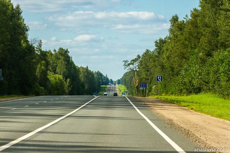 Трасса М-10, Тверская область