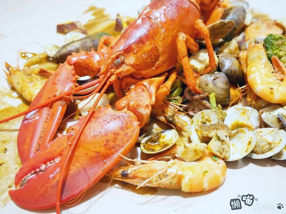 [新竹]Big Pier大碼頭美式海鮮手抓餐廳 新竹巨城店 (已歇業) 懶喵兒滴窩