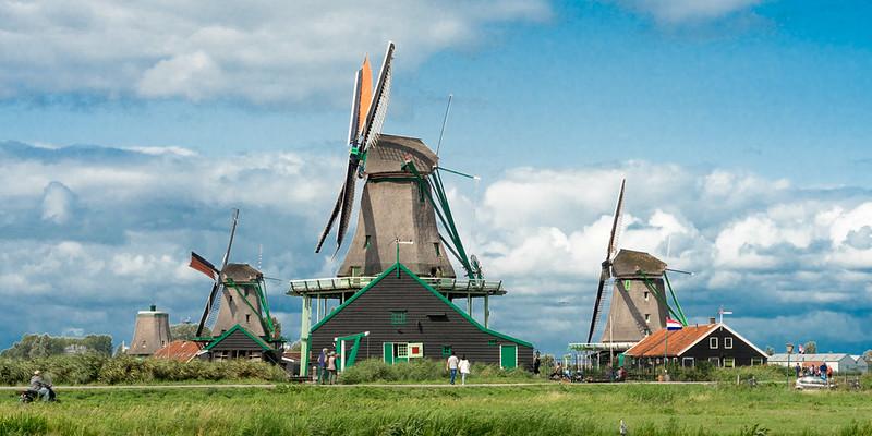 Mühlen in Zaanse Schans