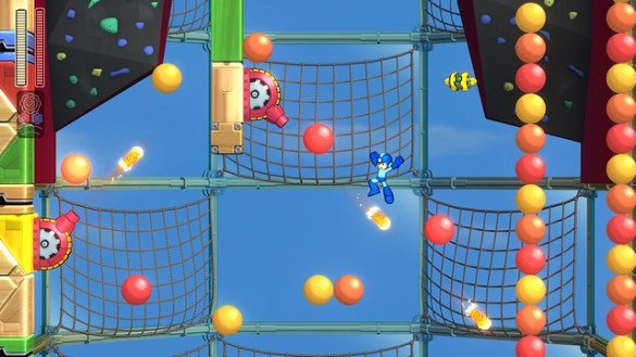 Mega Man 11 – 2_Bounce_Stage