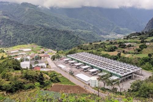 Zunil Geothermal Plant