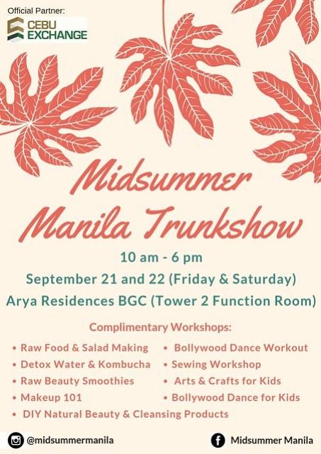 Midsummer Manila Trunk Show