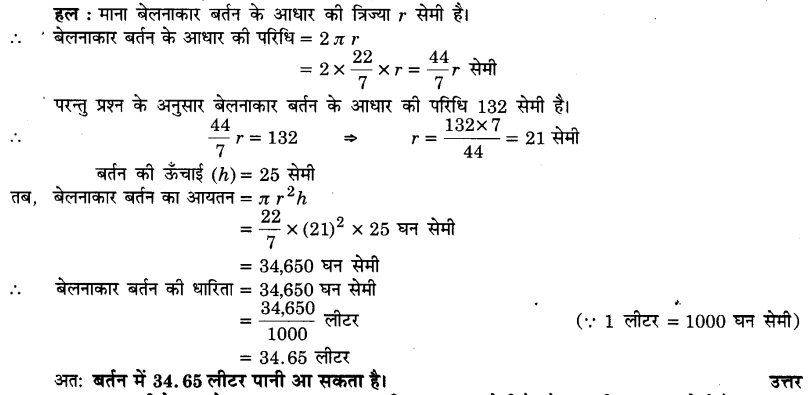 UP Board Solutions for Class 9 Maths Chapter 13 Surface Areas and Volumes 13.6 1