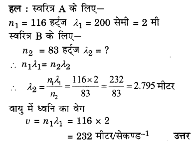 UP Board Solutions for Class 9 Science Chapter 12 Sound A 12