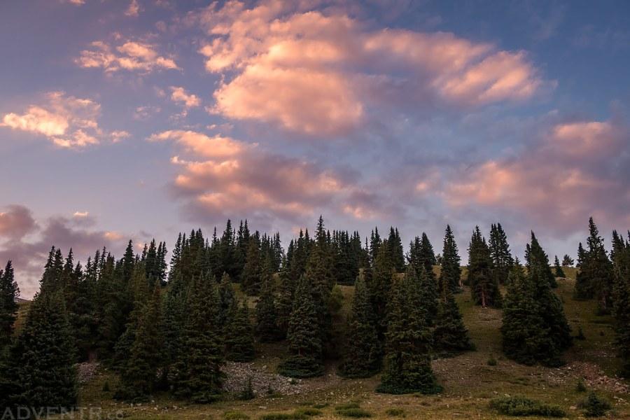 Clouds Above Camp