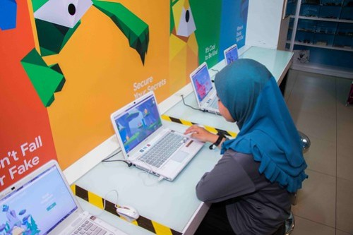 IMAGE 8 - Be a responsible digital citizen and stay safe online by playing a fun game at KidZania Kuala Lumpur 'KidZ & Tech 3.0' Programme