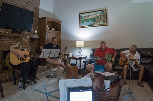 Upstate Acoustic Guitarists Jam Session-002