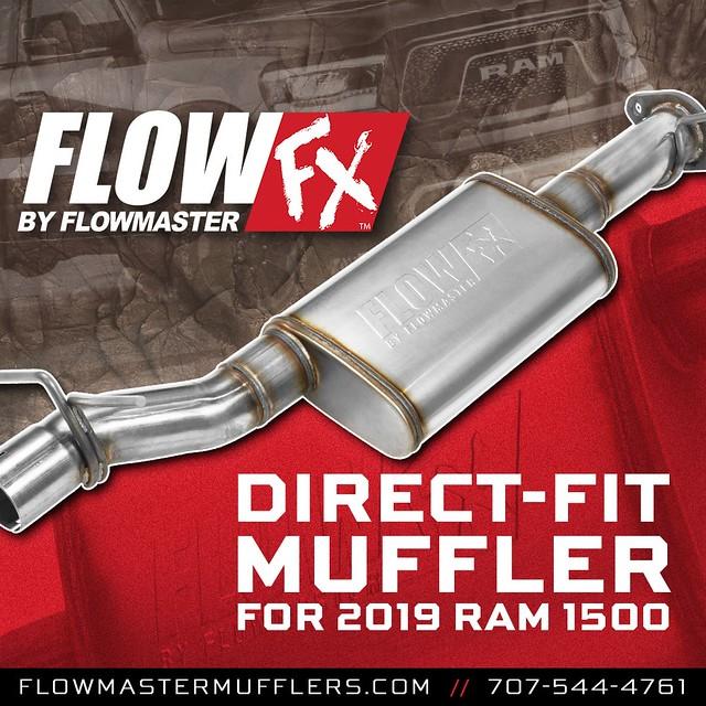 flowmaster flowfx direct fit muffler