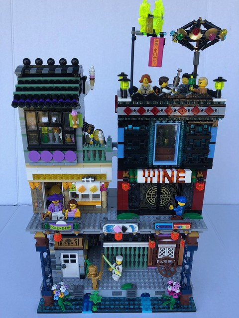 Ninjago City block