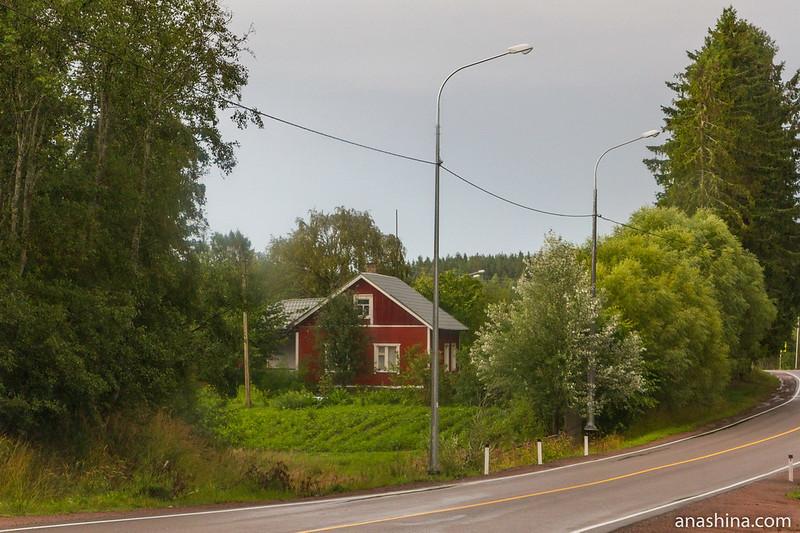 Дом в финском стиле, Карелия