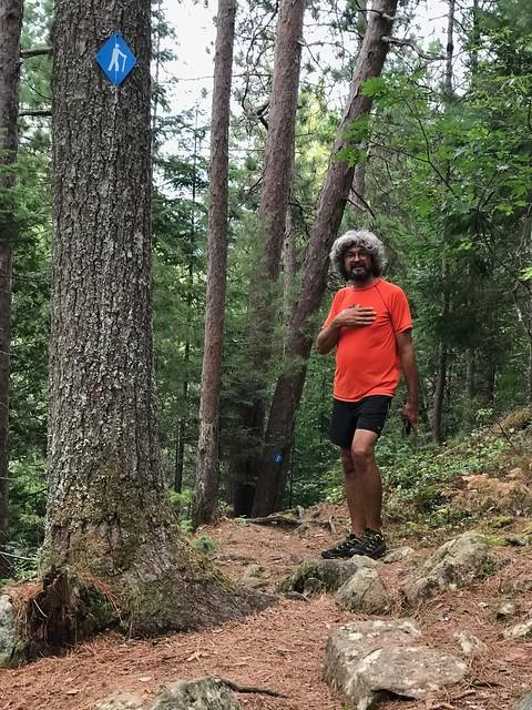 Samuel de Champlain - hike after the run