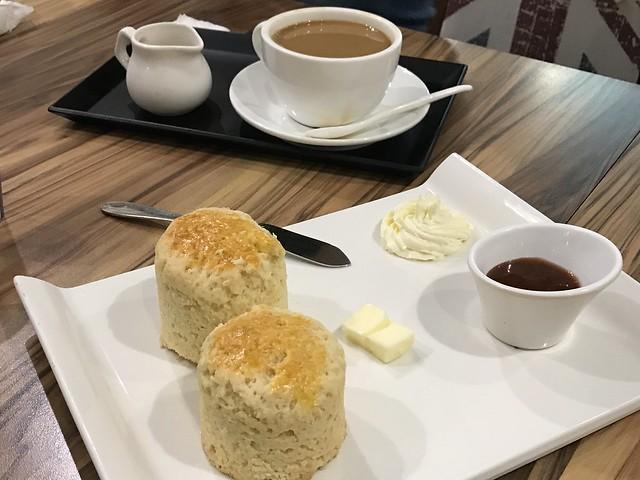 [淡水美食] 英國奶奶Britshake下午茶甜點飲料 經典司康$150 完整菜單價格介紹 @ ¾ のELSA。菲常好攝 :: 痞客邦