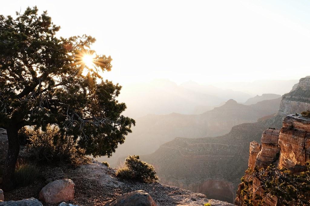 grand canyon, sunrise, fujifilm, x100t
