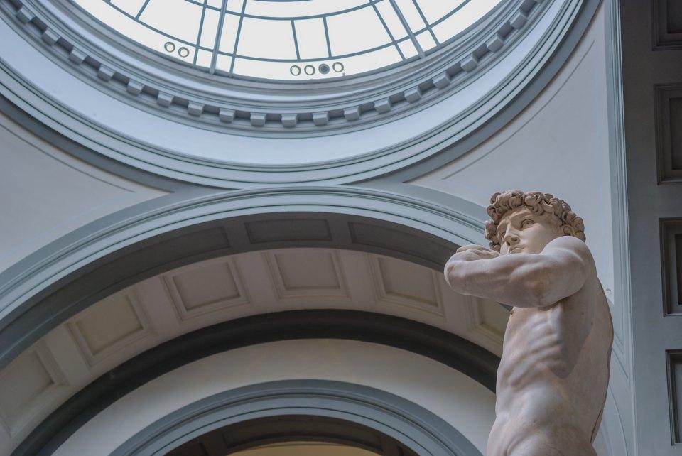 David di Michelangelo, Museo dell'Accademia