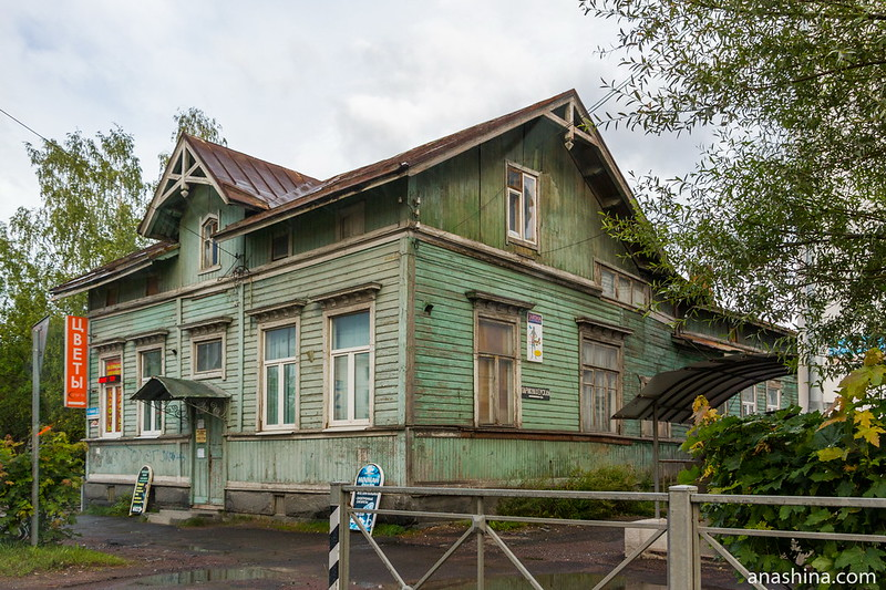 Старый деревянный дом, Сортавала, Карелия