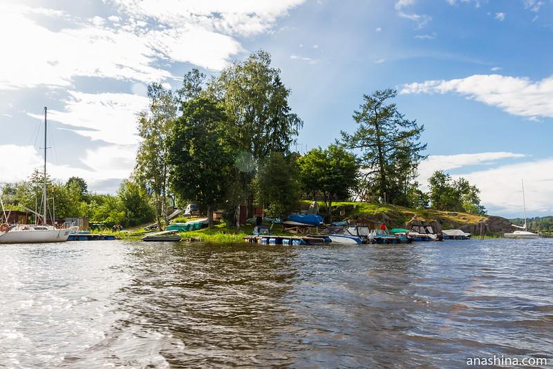 Мыс Пукинниеми, Ладожское озеро, Берёзово