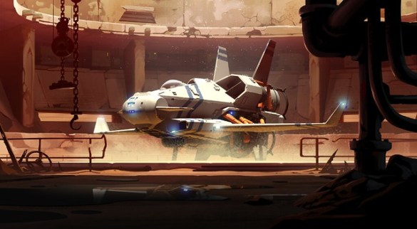 Rebel Galaxy Outlaw - Ship Docked