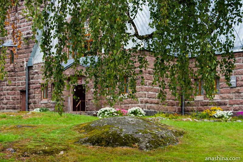 Лютеранская кирха в Мельникове, Ленинградская область
