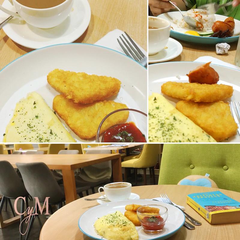 Book & Borders Café food