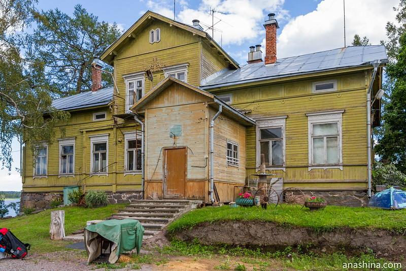 Главный дом усадьбы Пукинниеми, Берёзово, Ленинградская область