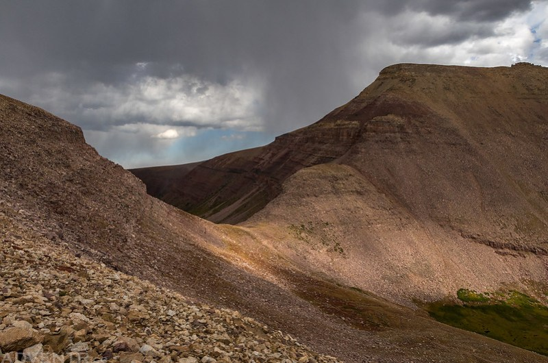 Beating the Storm to Gunsight Pass