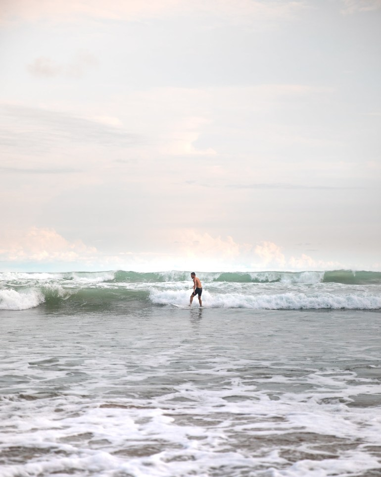 Surfing in Costa Rica