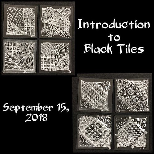 """Introduction to Black Tiles"" class tiles"