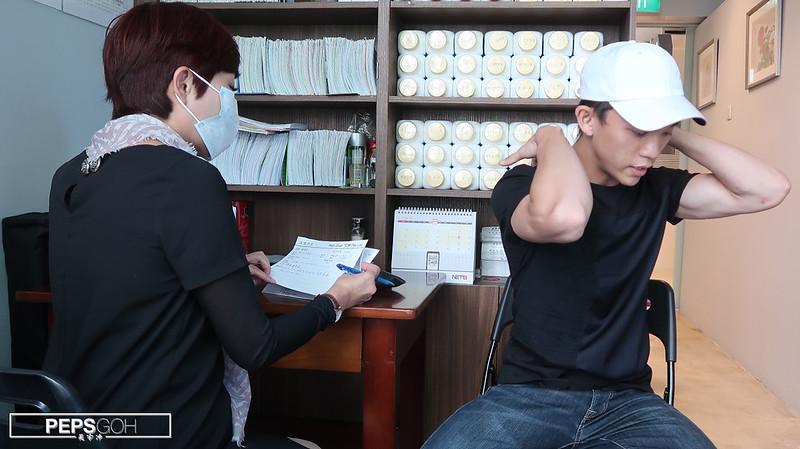 Peps Goh at Han Dian TCM