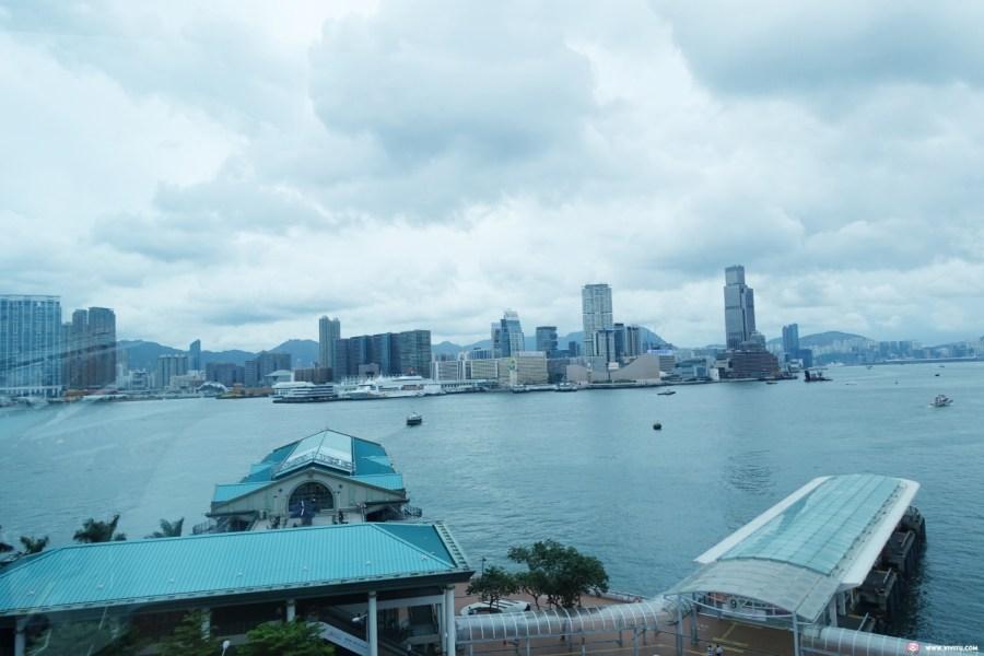 [香港旅遊]香港摩天輪(Hong Kong Observation Wheel)&紐約精品千層蛋糕Lady M~中環海濱地標最佳海景拍照地點.中環景點美食一日遊 @VIVIYU小世界