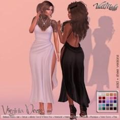 [WellMade] Virginia Dress