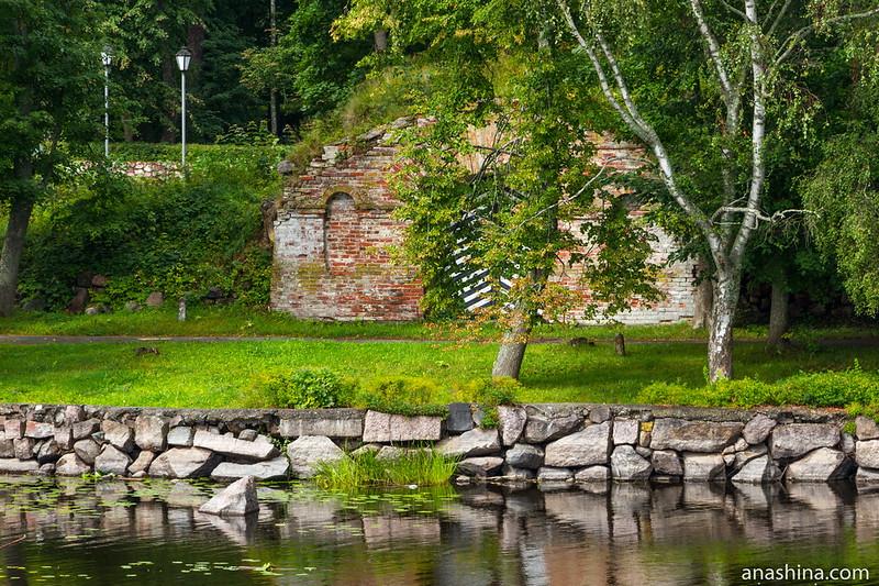 Шлосские ворота Новой крепости, крепость Корела в Приозерске